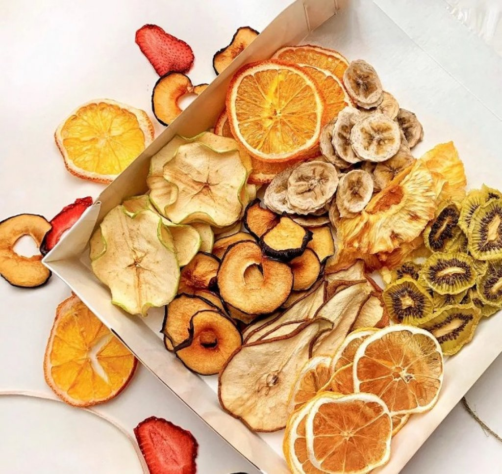 Фруктовые и овощные чипсы по низким ценам