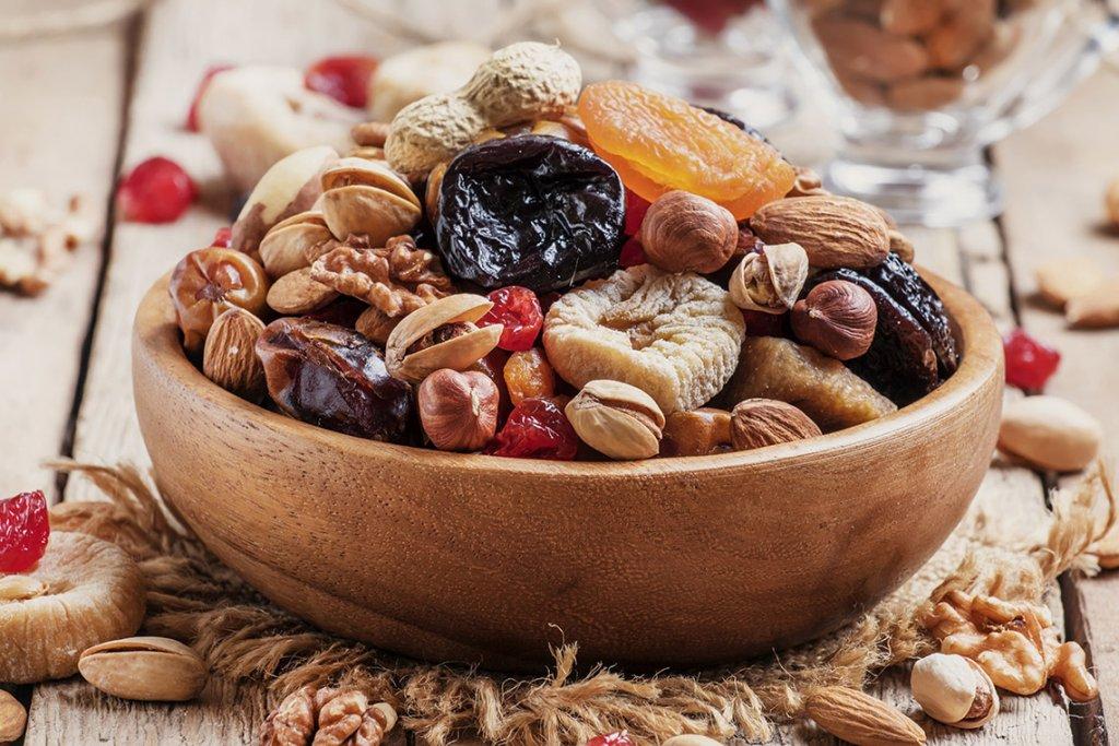 Орехи, сухофрукты, кондитерские изделия, ПП