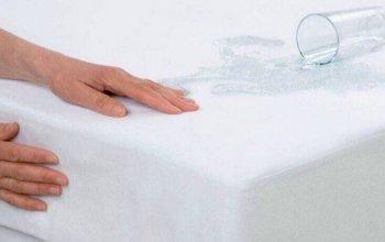 Наматрасник защитный водонепроницаемый с резинкой по всей длине