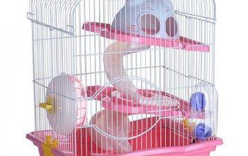 Клетка для грызунов 3-этажная