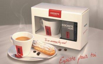 Набор EGOISTE Noir с чашкой