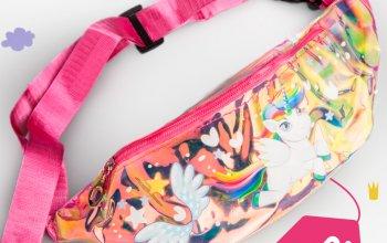 Появились поясные сумки для девочек!!