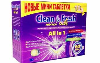Новые таблетки для ПММ mini tabs от LOTTA Clean&Fresh - экономно и удобно!