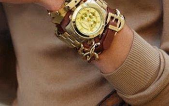 Как правильно носить часы и браслет на одной руке