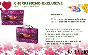 Наборы конфет в весенних обечайках
