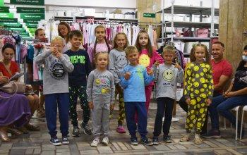 Презентация новой коллекции детской одежды