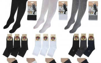 Всё для школы: носки, колготки, бельё. Выгодно для СП!