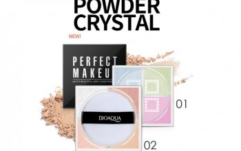 Рассыпчатая четырехцветная пудра bioaqua perfect makeup powder ПО СУПЕР ЦЕНЕ!