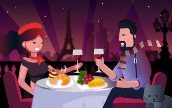 Романтический ужин на двоих в подарок нашим клиентам!